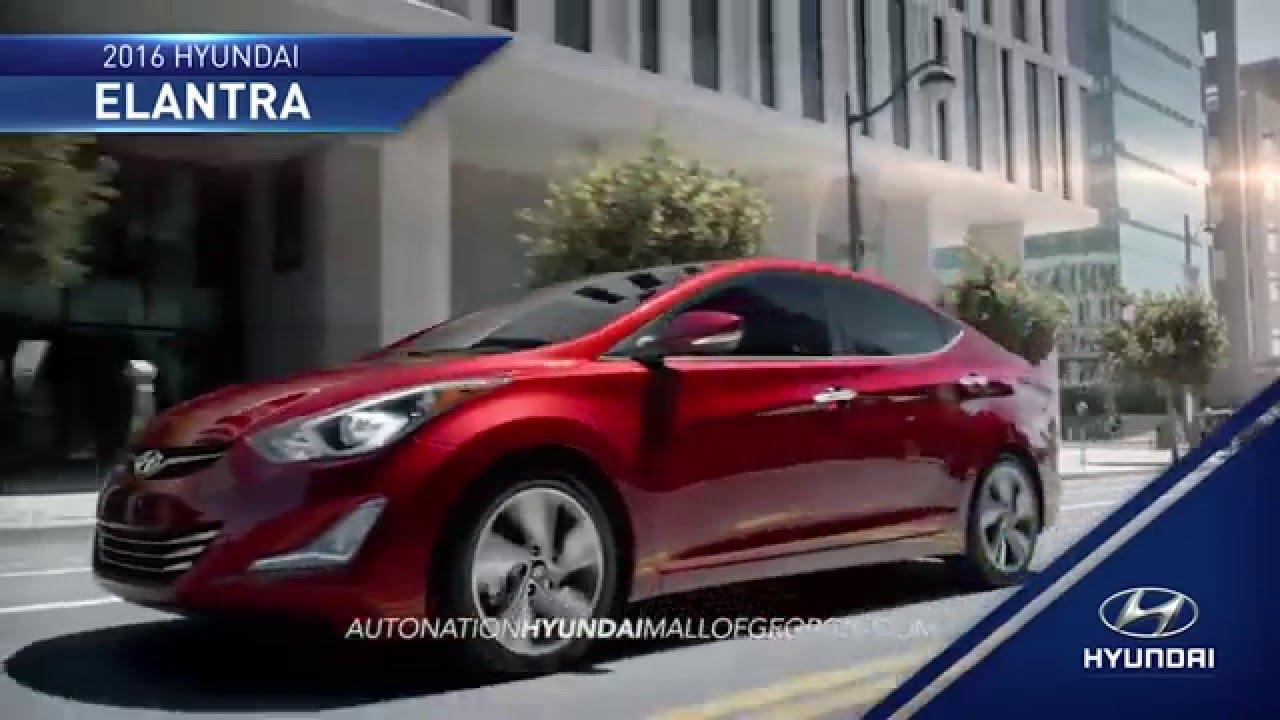 Hdaa Auto Nation Hyundai Mall Of Georgia 2016 Elantra Overview