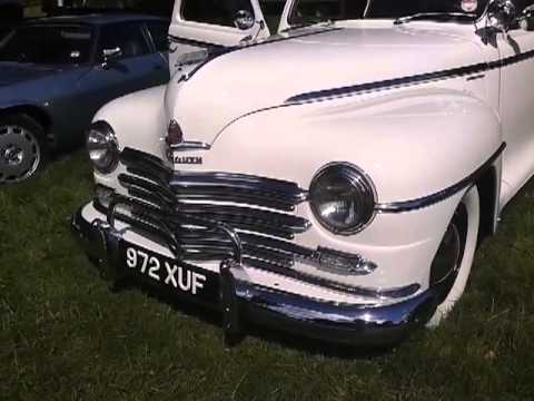 Plymoth at raby castle car show