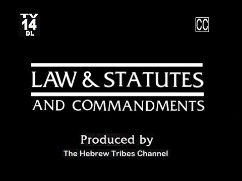 THE BIBLICAL HEBRAIC CULTURE & LAW VS. WORLDLY TRADITIONS OF MAN (Full)