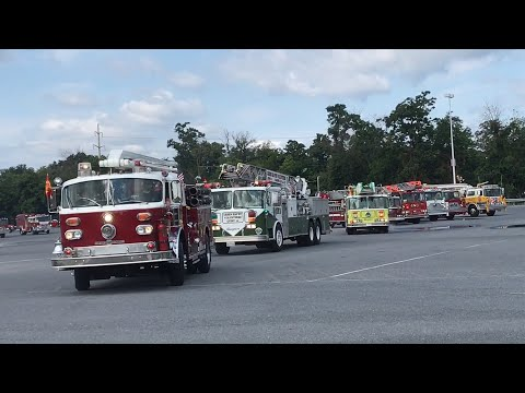 Old & Antique Apparatus Lights & Sirens Parade 42nd Annual PA Pump Primers Muster