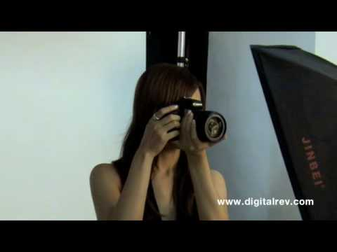 Canon EOS 50D & Nikon D90 Photo Shoot by DigitalRev