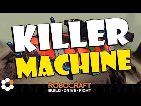 Want Loads Of Kills - Build This Beast - Robocraft Build And Battle