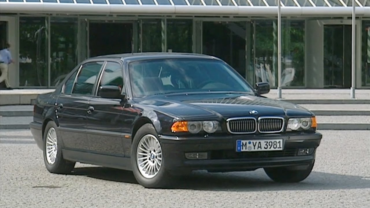 bmw 750 il security limousine e38 7 series 1995 2001 youtube. Black Bedroom Furniture Sets. Home Design Ideas