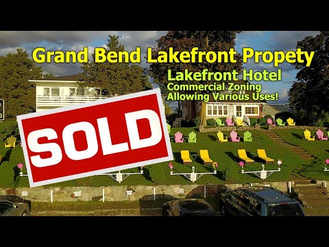 Grand Bend Lakefront Hotel for Sale, Commercial Lakefront Property For Sale, Grand Bend Real Estate