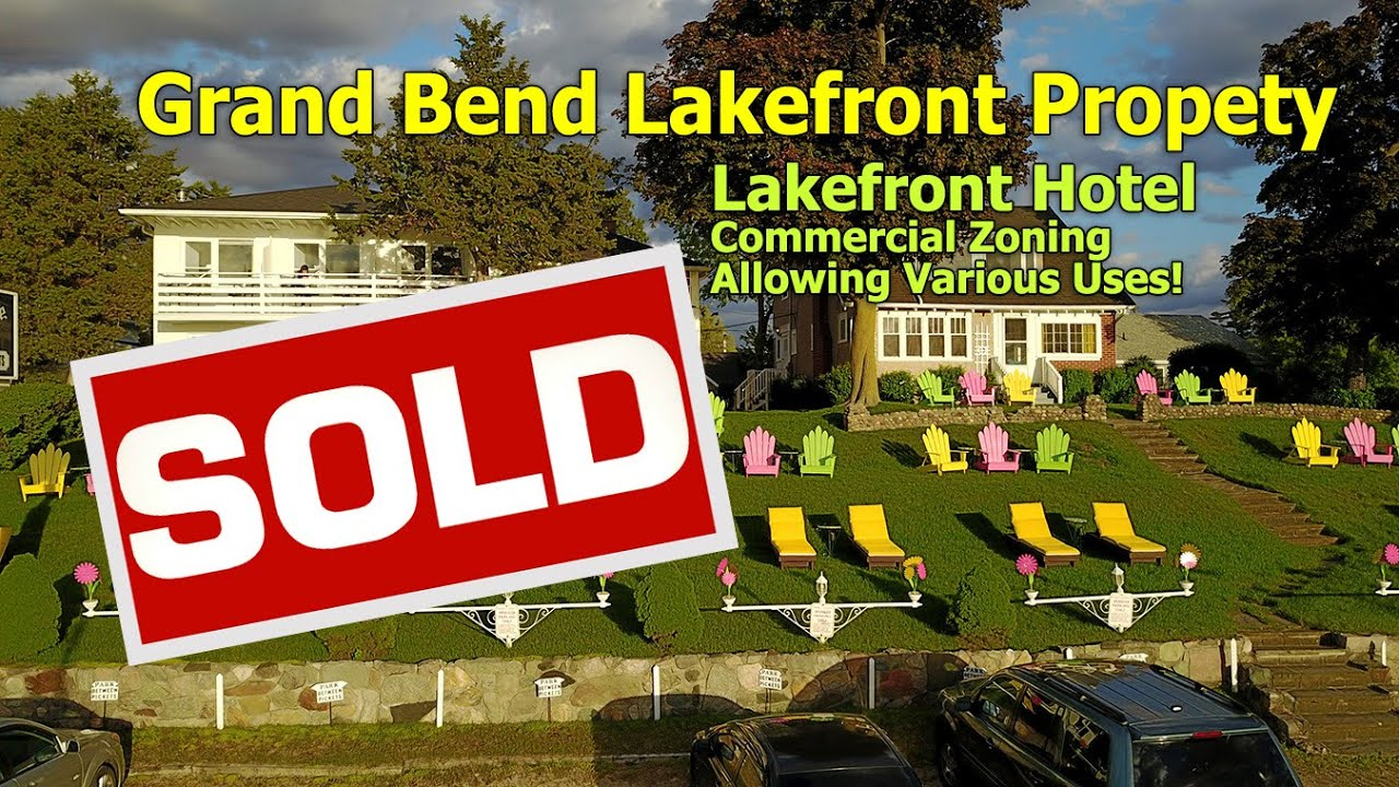 Grand Bend Lakefront Hotel For Commercial Property Real Estate