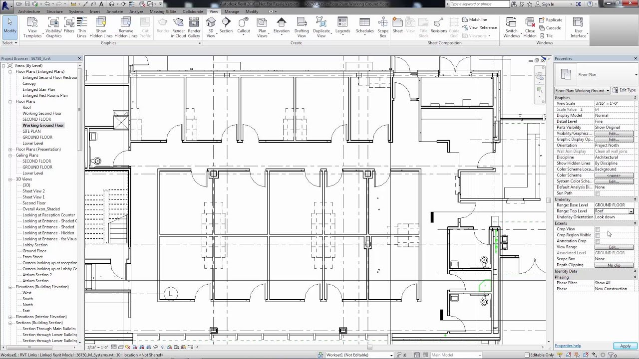 How To Draw A Floor Plan In Revit