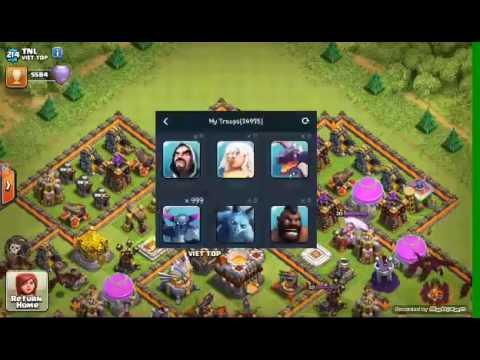 Cara mod clash of clans memakai xmod games