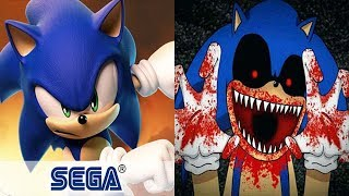 Sonic Forces vs SONIC EXE Reborn BOSS FIGHT