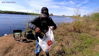 Весенняя рыбалка. р.Луга. Кингисепп.