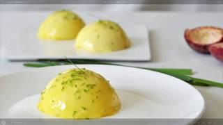【蛋糕做法】柠檬慕斯蛋糕做法  Lemon mousse cake