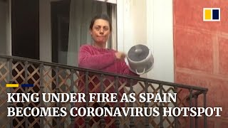 Spain becomes world's new coronavirus epicentre as public calls on king to donate to health system