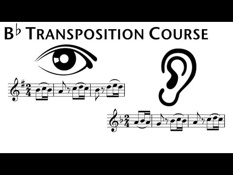 B-flat Transposition Course