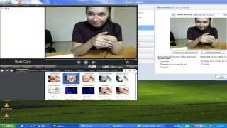SplitCam Webcam Effect Video Flip Horizontal