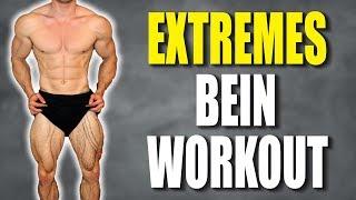 Schnellster Muskelaufbau für die Beine | Workout im Hypertrophiebereich