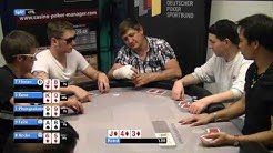 Live Poker Straight Flush Draw gegen . . . (Hannover 07.Juni 14)