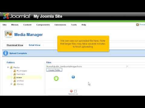 Joomla - Administrator - Media Manager