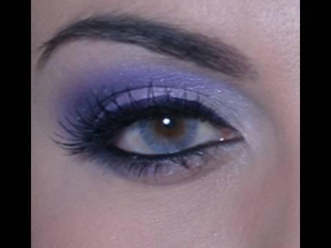 Look morado especial para ojos caf s youtube - Gama de colores morados ...