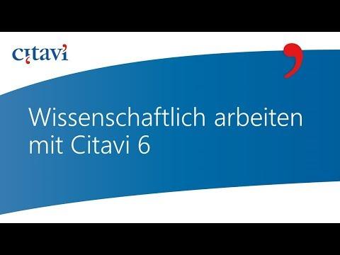 Video Tutorials für Citavi 6 for Windows