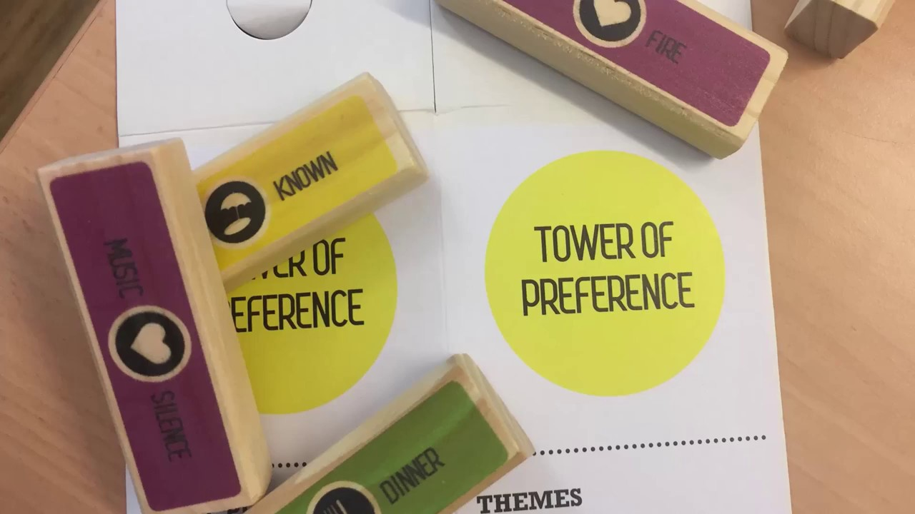 Agile Spiele hr pioneers spielt den tower of preference