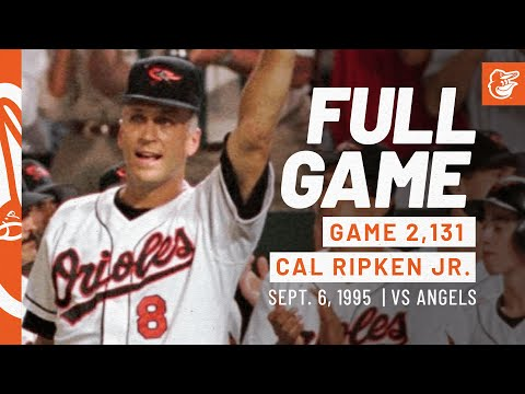 Game #1: 9/6/95 Angels at Orioles