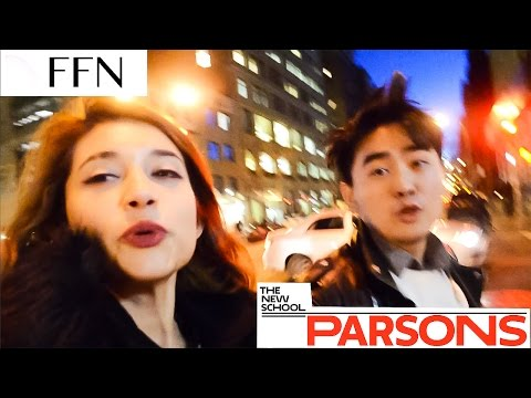 CRAZY PARSONS FASHION LIFE - COLLEGE IN NYC VLOG