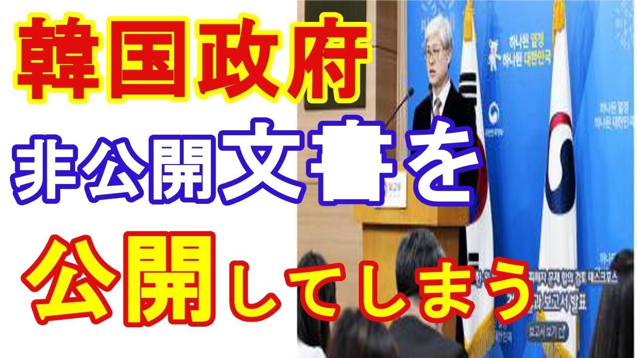 News Curio 韓国政府、日韓合意の非公開文書を公開(News Curio) - YouT