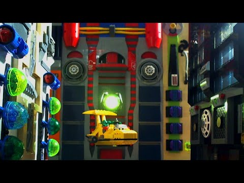 Lego Space Police Armed Robbery