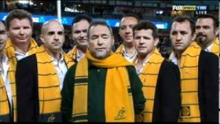 Download Video The OBRC sing True Blue with John Williamson at ANZ Stadium MP3 3GP MP4