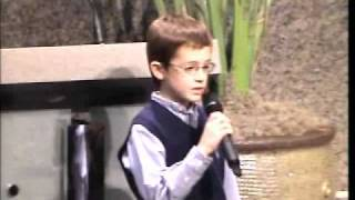 Nine-Year-Old Recaps The Bible