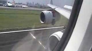 Philippine Airlines Landing At NAIA