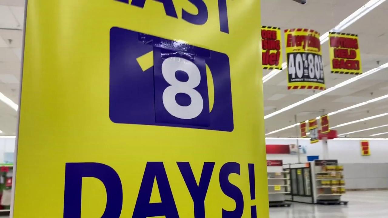 Closing Kmart tour 12/7/2019 Tabb, VA #kmartclosing2019
