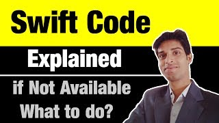 What is Swift or BIC Code Explained in hindi | What do to if my bank has no swift code