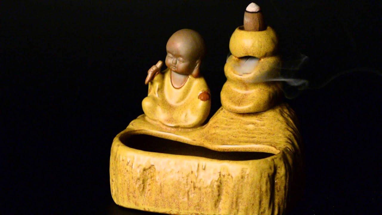 Подставка под благовония Голова Будды - подставка для аромапалочек .