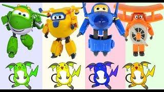 Learn colors  출동! 슈퍼윙스 (KOR) \ Super Wings Cartoon Videos |  OneKidsTV3
