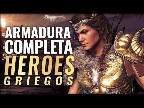 Assassin's Creed Odyssey | Consigue la mejor armadura Legendaria HEROES GRIEGOS (Conjunto Completo) thumbnail