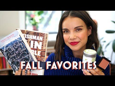 FALL FAVORITES 2019 - makeup, books, skincare I'm loving   Ingrid Nilsen thumbnail