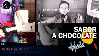 Sabor a Chocolate ELEFANTE Cover Guitarra Acústica Tutorial Christianvib
