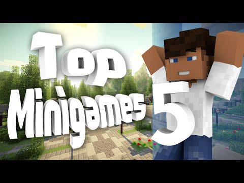 Top 5 Minigame Plugins | Minecraft