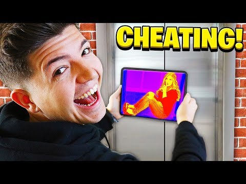 I Used Security Cameras To Cheat in Hide & Seek (Funny)