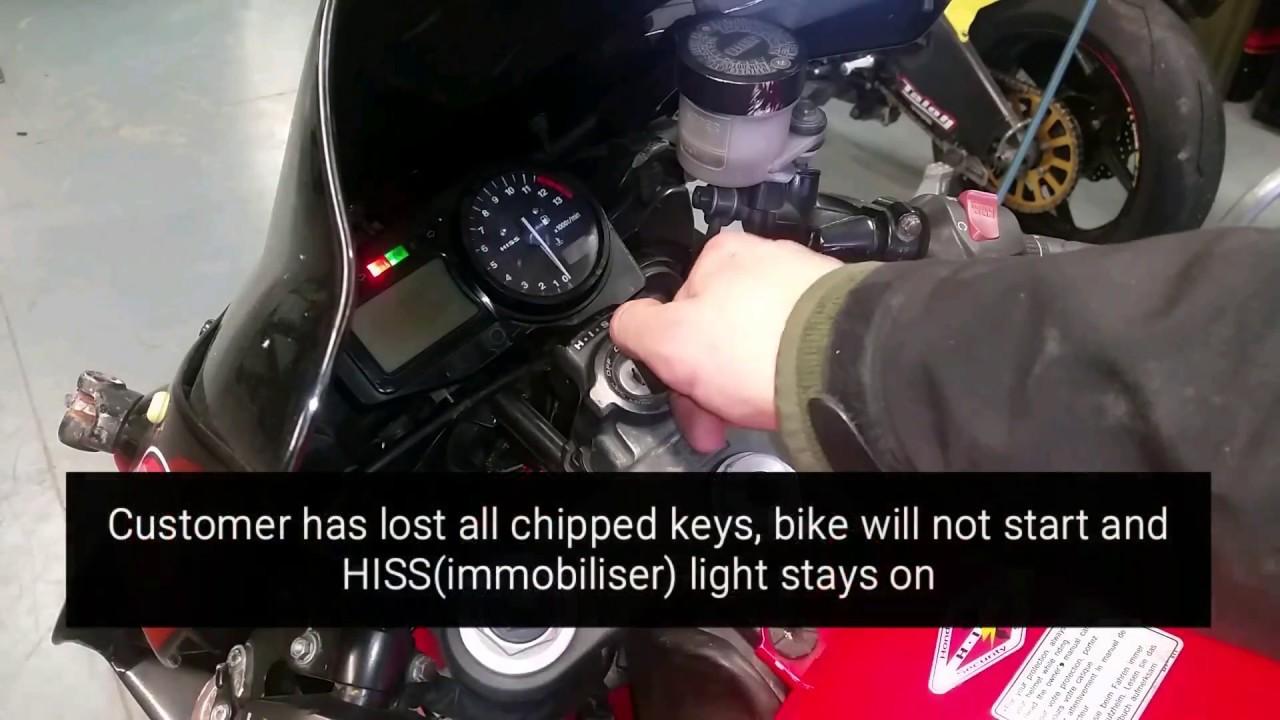 Honda Immobiliser repair@mototuning ie