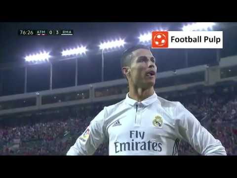 Cristiano Ronaldo hat-trick Goal vs Atletico Madrid