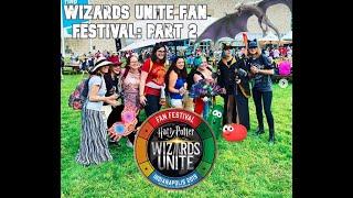 Wizards Unite Fan Fest: Part 2 | #WizUWitches | MEETING HOLLY POTTER | #DarkArtsMonth News