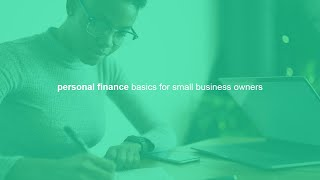 personal finance and money management basics for small business owners