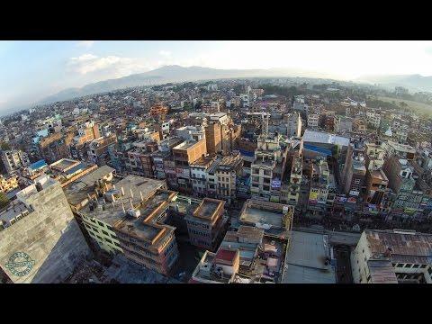 Kathmandu drone video - DJI Phantom 2