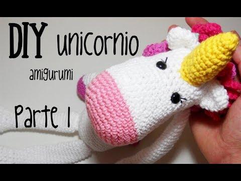 Tutorial: Unicornio Amigurumi 4/5 Como hacer las patas del ... | 360x480