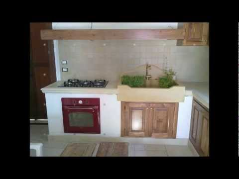 La pietra taurina cucine in muratura lavelli pavimenti - Cucina in muratura da esterno ...