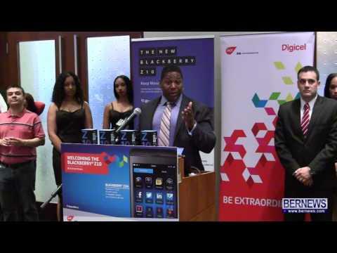 #2 Digicel Bermuda Launch Blackberry Z10, Apr 25 2013