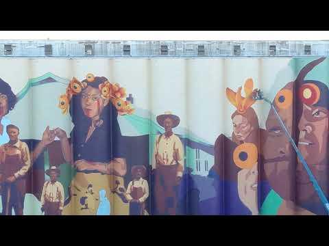 Randy Rose - 50,000 Square-Foot Mural