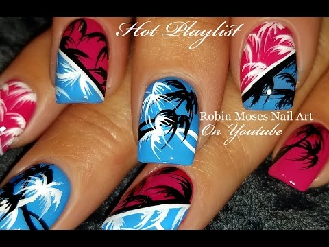 Vacation Nails! | Hot DIY Tropical Nail Art Design Tutorial