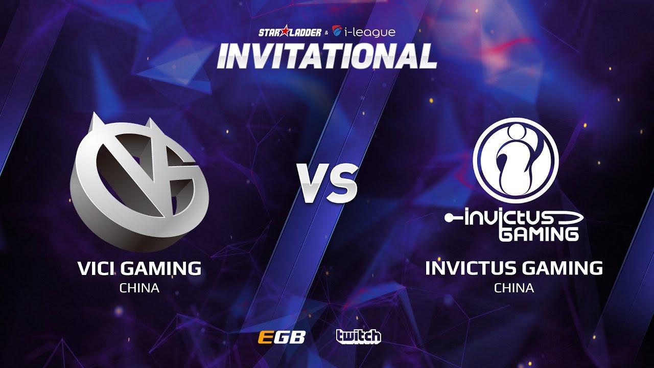 Vici Gaming vs Invictus Gaming, Game 2, SL i-League Invitational S2, CN Qualifier